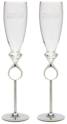 DAY Birger et Mikkelsen Weddingstar Wedding Toasting Champagne Flute Glass