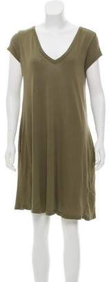 Current/Elliott Short Sleeve Mini Dress