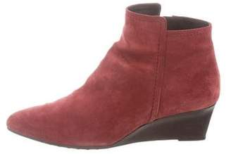 Tod's Pointed-Toe Wedge Boots