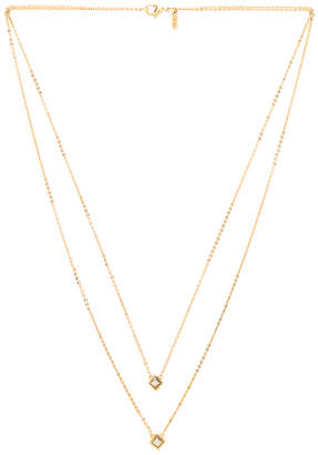 Vanessa Mooney Comets Necklace in Metallic Gold. $165 thestylecure.com