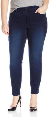 NYDJ Women's Plus Size Alina Skinny Jeans in Super Sculpt Denim