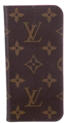 Louis Vuitton 2018 Monogram iPhone 7 Folio Brown 2018 Monogram iPhone 7 Folio