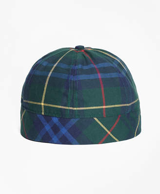Brooks Brothers Tartan Wool-Blend Cap