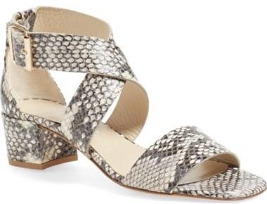 AGL 'City' Block Heel Sandal (Women)