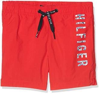 Tommy Hilfiger Boy's Medium Drawstring Swim Shorts, (Manufacturer Size: 6-7)