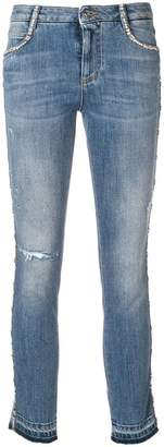 Ermanno Scervino cropped skinny jeans