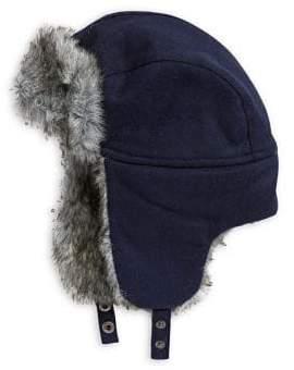 fd94118bb3c ... Tommy Hilfiger Faux Fur-Trimmed Trapper Hat