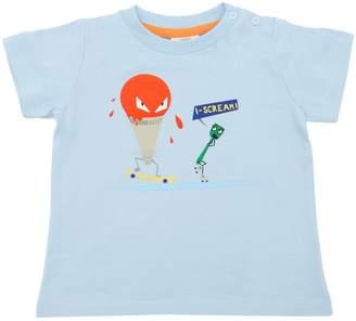 Fendi I Scream Cone Cotton Jersey T-Shirt