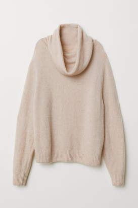 H&M Knit Turtleneck Sweater - Orange