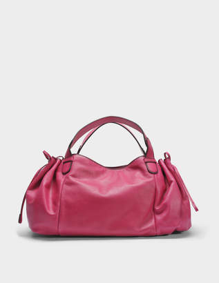 Gerard Darel 24 GD Bag in Fuchsia Leather