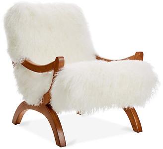 Le-Coterie Le Coterie JJ Accent Chair - White
