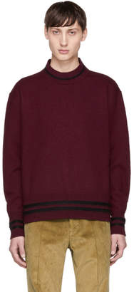 Marni Burgundy Crewneck Sweater