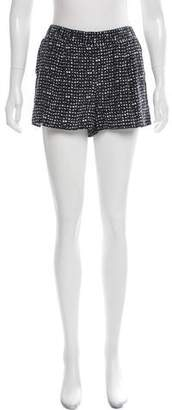 Joie Abstract Patterned Mini Shorts