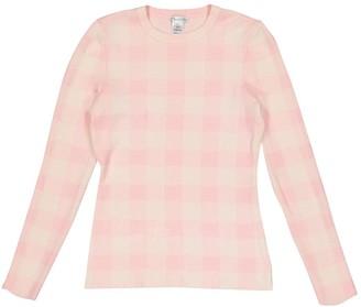 Oscar de la Renta Pink Cashmere Knitwear