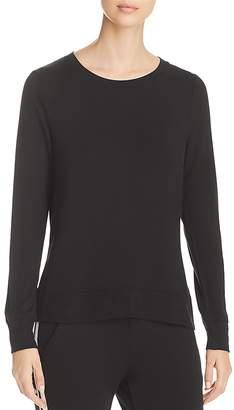 Andrew Marc Performance Sweatshirt Style High/Low Tee