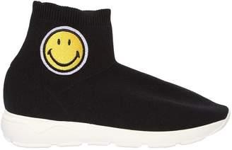 Joshua Sanders Smile Patch Sock Sneakers