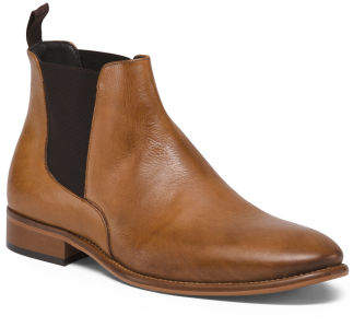 Men's Made In Italy Leather Boots