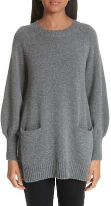 Co Wool & Cashmere Tunic Sweater