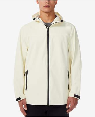 32 Degrees Men's Storm Tech Full-Zip Hooded Rain Jacket