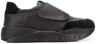 Emporio Armani touch strap sneakers