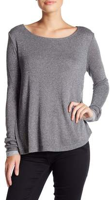 Three Dots Open Side Scoop Neck Sweater $135 thestylecure.com