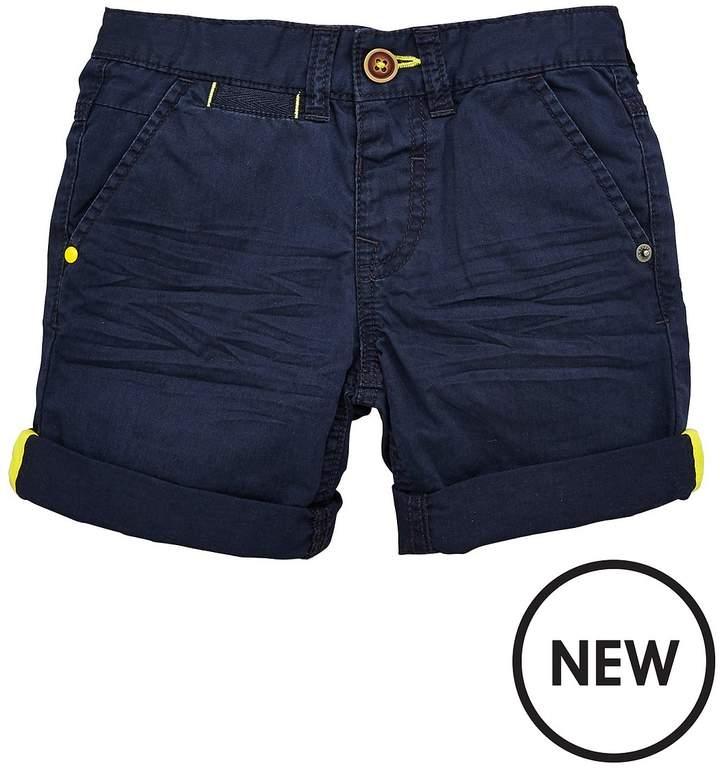 Mini V By Very Boys Roll Up Shorts