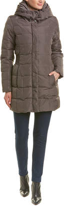 Cole Haan Hooded Down Coat