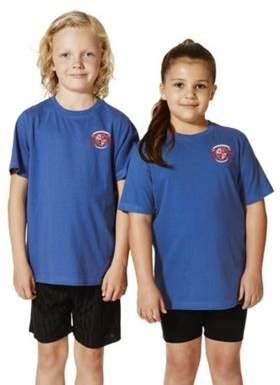 F&F Unisex Embroidered Sports T-Shirt 14-15 yrs