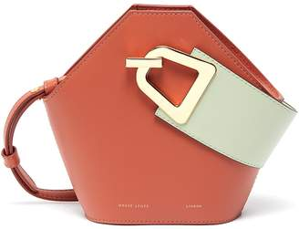 Danse Lente 'Johnny' mini hexagonal leather bag