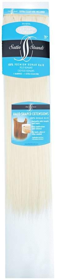 Satin Strands Halo Shaped Riviera 16 Inch Human Hair Extensions