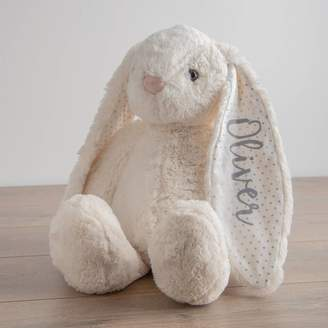 My 1st Years Personalised Large White Bunny Soft Toy