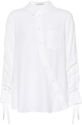 Altuzarra Silk-blend shirt