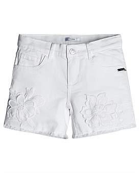 GUESS Floral Applique Shorts