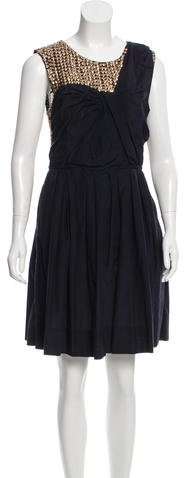 3.1 Phillip Lim 3.1 Phillip Lim Embellished Sleeveless Dress