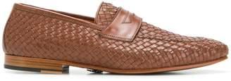 Andrea Ventura woven loafers