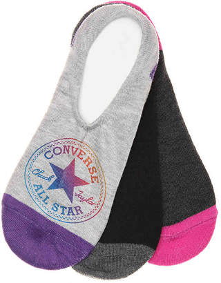 Converse Patch No Show Liners - 3 Pack - Women's