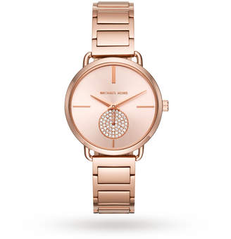 75dbdaf30ed6 Michael Kors Ladies  Rose Gold Bracelet Watch - ShopStyle UK
