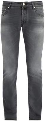 Jacob Cohen Slim-fit mid-rise jeans