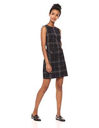 Tommy Hilfiger Women's Plaid Pocket Dress