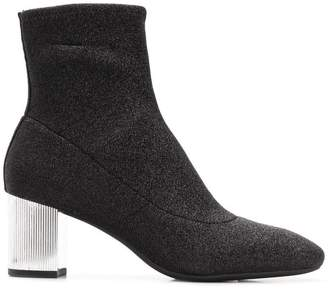 MICHAEL Michael Kors stretch-knit ankle boots