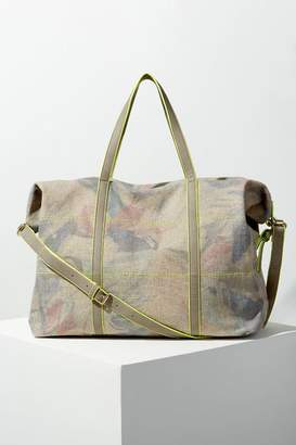 Anthropologie Abstract-Print Travel Bag