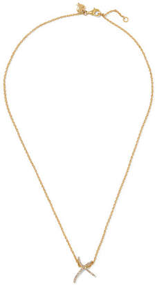 Stephen Webster Tracey Emin Kiss 18-karat Gold Diamond Necklace