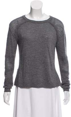 Milly Long Sleeve Crew Neck Sweater