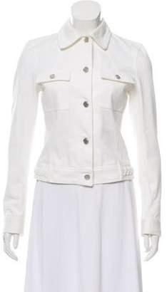 Michael Kors Button-Up Denim Jacket