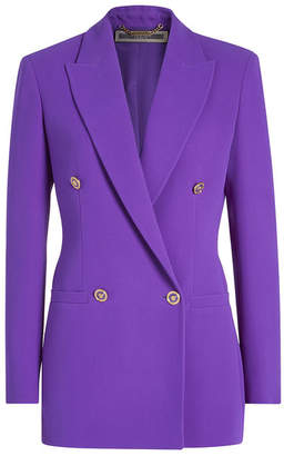 Versace Tailored Silk Blazer