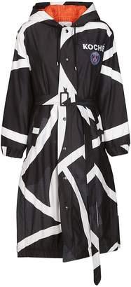 Koché Koche Single Breasted Raincoat