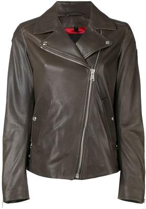 Belstaff fitted biker jacket