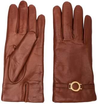 L'Autre Chose leather gloves