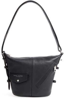 Marc Jacobs The Mini Sling Convertible Leather Hobo