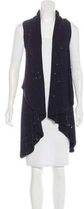Alice + Olivia Embellished Knit Vest